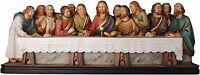 Ultima Cena Estatua En Vio The Last Supper Wood Carved Statue