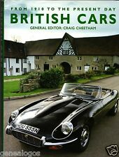 LIVRE BOOK BRITISH CARS CRAIG CHEETHAM 1910 to 2005 176 pages AMBER BOOKS DUBAI