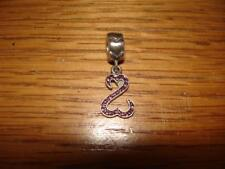 KAY JEWELERS CHARMED MEMORIES JANE SEYMOUR OPEN HEART PINK SWAROVSKI STERLING