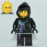 The LEGO Movie - Minifigure - Cool-Tag (Wyldstyle with Hood) - tlm017 Set 70801