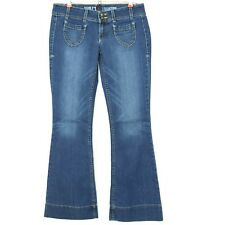 Peoples Liberation Womens Jeans Flare Size 28 X 33 Long Stretch