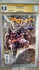 Batman Eternal #1 CGC 9.8 AUTOGRAPHED by SCOTT SNYDER