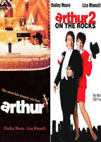 Arthur 1 (1981) / Arthur 2: On the Rocks (2 Disc) DVD NEW