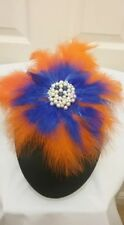 Feathers Headpiece with beads for weddings and other Occasions