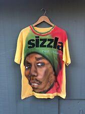 New listing 90s Vintage Sizzla Reggae Rain Shower Airbrush All Over Shirt