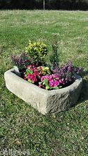 very authentic reconstituted stone trough,concrete pot TR3