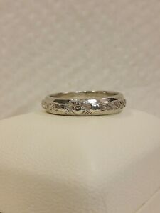 Sterling Silver Men's Wedding Claddagh Ring Size 11