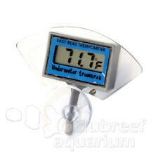 Submerisble Inside-Tank Suction Cup Mount Digital Aquarium Thermometer