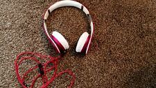 Beats by Dr. Dre Solo HD Headband Headphones - Pink Works Great.