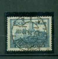 Deutsches Reich, Wartburg, Nr. 261 b gestempelt Inflageprüft + BPP