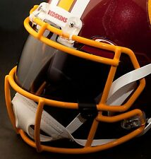 *CUSTOM* WASHINGTON REDSKINS NFL OAKLEY Football Helmet EYE SHIELD / VISOR