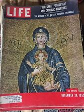 Life Magazine Dec 28 1953 {Four Great Protestant And Catholic Churches}
