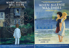 WHEN MARNIE WAS THERE CHILDRENS PUZZLE SHEET X 2 - STUDIO GHIBLI