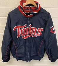 Minnesota Twins Authentic Majestic Fleece Lined Jacket Size Large