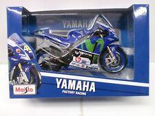 MAISTO 1/10 - MOTO YAMAHA FACTORY RACING N° 46 VALENTINO ROSSI - MOTO GP