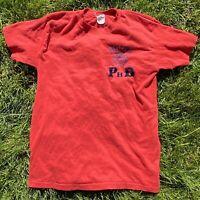 Vintage University of Arizona T Shirt M Single Stitch PHD Cactus Aztec Southwest