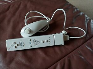 Wii controller (Third party) and nunchuck motion plus. Good clean condition.
