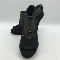Kate Spade Black Leather Ankle Boot 7
