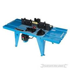 Router FAI DA TE TAVOLO CON GONIOMETRO UK 850 x 335mm Power Tools Bench Top