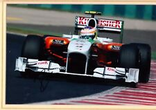 Paul Di Resta Hand Signed Mounted Photograph 11 X 14 Inch F1 Driver Force India