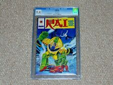 1992 Valiant Rai # 4 CGC 9.4 NM Damaged Case Low Distribution Pre-Unity