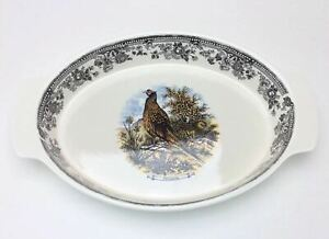 Churchill Vintage Game Archive Illustrations Oval Baker Casserole Serving Dish