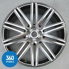 "1 X Nuovo Originale Bentley 21 ""Continental Speed LEGA RUOTA Scuro Tinta 3w0601025dp"