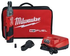 "Milwaukee 2556-21 M12 FUEL 1/4"" Drive  Ratchet Kit with Battery and Charger"