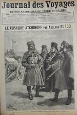 Zeitung der Voyages Nr. 615 von 1889 Russland der Kossacken Atchinoff