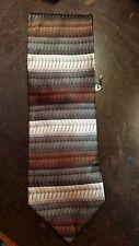 Georgi Brutini Brown Stripe Executive Designer Mens Necktie Free Shipping