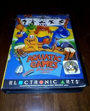 Aquatic games starring James Pond  pal multilanguage Mega drive sega