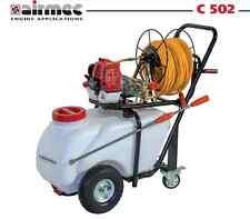 Motopompa irrorazione diserbo carrello 50 lt benzina disinfestazione AIRMEC C502
