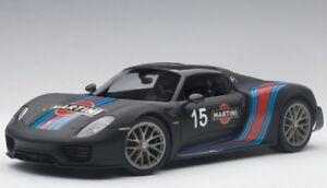 Porsche 918 Spyder Weissach Package Martini (Black) 2013