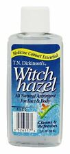 Dickinson Brands - T.N. Dickinson's Witch Hazel 100% Natural Astringent - 2 oz.