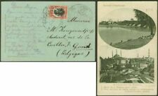 Turkey/Bulgaria Occ. 1913 view card/10st/Military h.s.