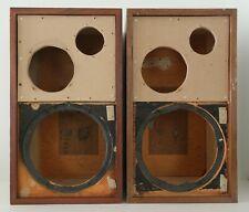 Pair Vintage AR2a Speaker Cabinets ( Serial Number : D60722/60742 )