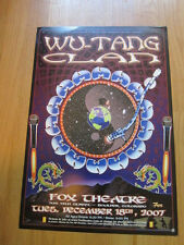 WU TANG CLAN  Denver concert poster 2007