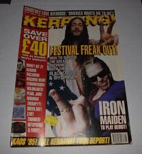 KERRANG! Magazine Jun 1995 Black Crowes