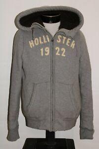 HOLLISTER Mens medium M Thickly Insulated hooded Jacket/Sweatshirt