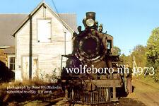 Wolfeboro RR 250 getting  ICC boiler test Don Hallock  Wolfeboro Falls 1973