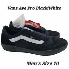 Vans Ave Pro Shoe Anthony Van Engelen Black White Extra Laces Men's SZ 10 New