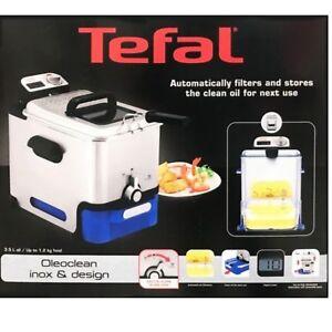 Tefal FR804040 Oleoclean Pro Fryer 2300W Easy Clean Fryer 3.5L
