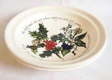 NEW Portmeirion The Holly and The Ivy Rimmed Bowls x 2 - 8 1/2 Inch