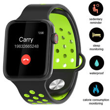 Sports Bluetooth Smart Watch Call Vibrating Reminder for iPhone Huawei Samsung