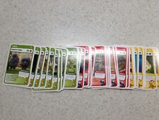 Woolworths Aussie Animals Red back Complete Set Of 36 Cards OR 4 cards for $1