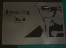 M3 HEISENBERG Breaking Bad Movie Airbrush Stencil Skull Zombies Template Steps