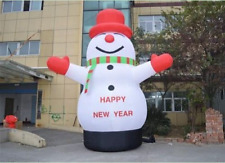Lovely Giant Outdoor Christmas Inflatable Snowman for Christmas Decoration 6M uk