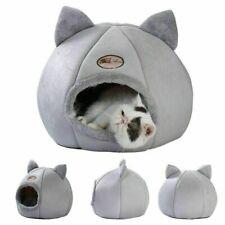 Warm Hunde Katzen Höhlennest Haustier Katzen Nest Haus Bett Katzenhöhle Gr.ML XL