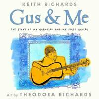 Gus and Me, Richards, Keith, New, Book