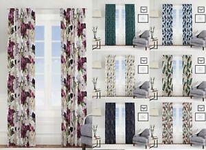 Modern Curtains 2 Panels Pencil Pleat  W55'' x D95'' 10 Designs Living Room